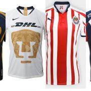 El #10yearchallenge de jerseys de la Liga MX