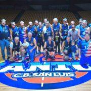 San Luis se corona campeón del Maxibasquet 2019