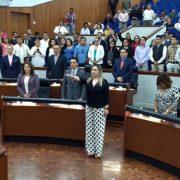 Presentan a Marisol Alvarado como la nueva oficial mayor del Congreso de SLP