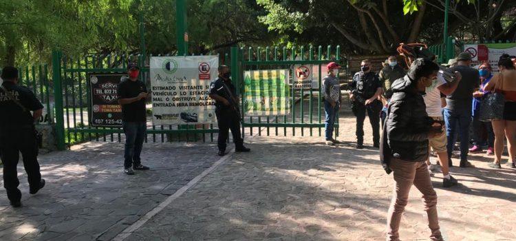 POLICÍAS ESTATALES REALIZAN OPERATIVOS DE VIGILANCIA EN PARAJE DE LA MEDIA LUNA