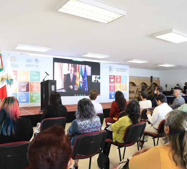 FIRMAN ACUERDO DE COOPERACIÓN EDUCATIVA LOS AYUNTAMIENTOS DE MÁLAGA Y SAN LUIS POTOSÍ