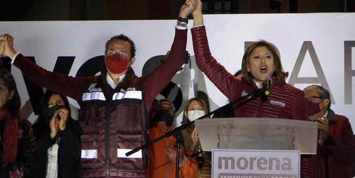 Celebra Dra. Mónica Rangel restitución de candidatura Xavier Nava en SLP
