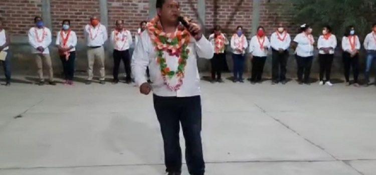 BALACERA SE DESATA EN PLENA CAMPAÑA DE UN CANDIDATO A LA PRESIDENCIA MUNICIPAL