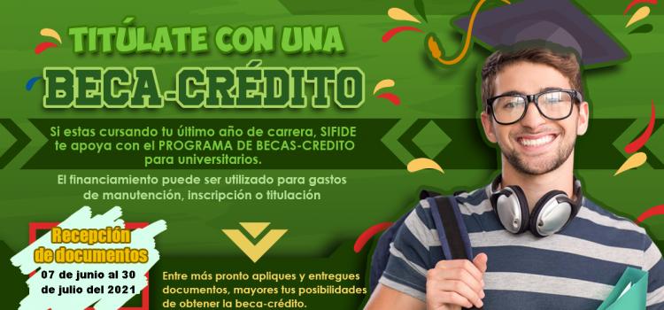 Sifide apoya a estudiantes a través de programa de crédito