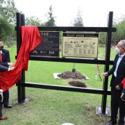 Gobernador inaugura jardín japonés en Parque Tangamanga I