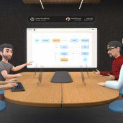 Facebook presenta su plataforma para trabajar en realidad virtual