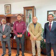 Se reúne el alcalde electo Enrique Galindo con el delegado federal Gabino Morales